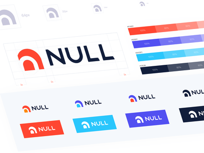Ui Exercises11/100 (Null Logo) clean null red n color logo