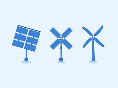 Solar panel transforming