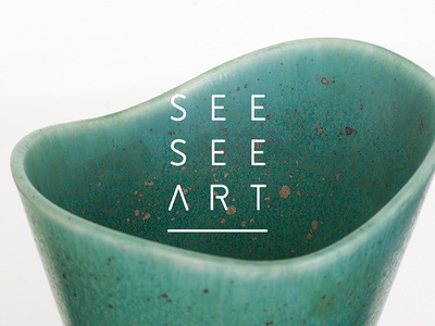 SeeSee Art Logo design