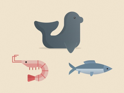 Sea creatures water salmon schrimp environment fish animals naturskyddsföreningen