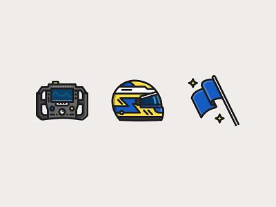 Formula 1 Marcus Ericsson blue yellow marcus ericsson flag blue flag steering wheel helmet f1 formula 1