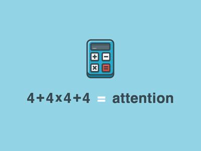 Calculator icon multiplication first 44 miniräknare red blue attention calculator