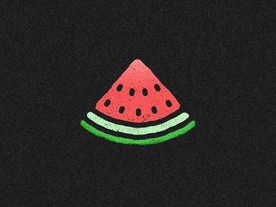 Watermelon negative space colourful black sliced fruit watermelon