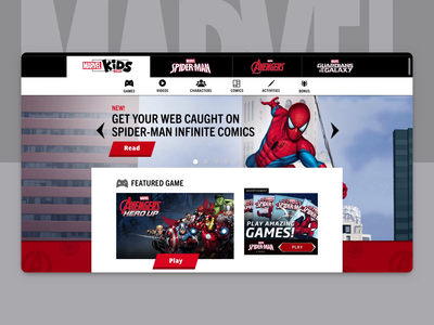 Marvel Kids - UI