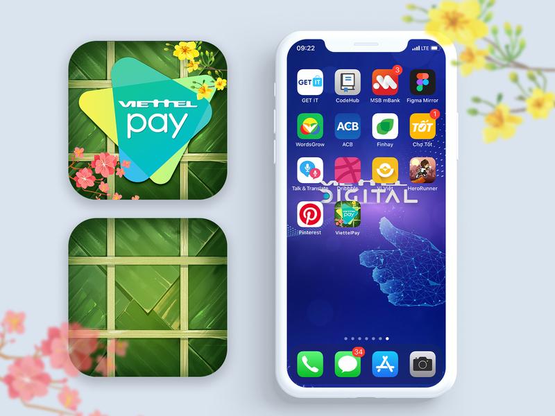 Icon app Tet - Happy new year 2020