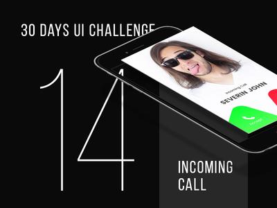 Day 14 - Incoming Call UI