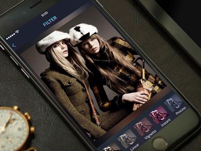 Photo Editor App Mockup Design