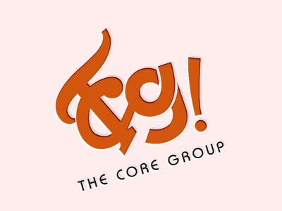 The Core Group Logo Mockup