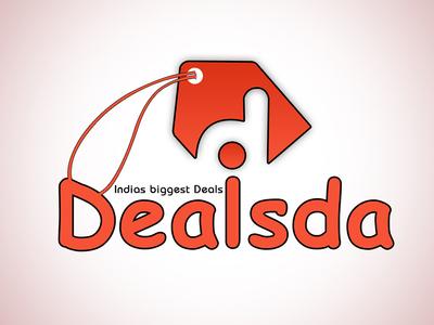 Dealsda cashback pricedrop deals based website logo