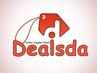 Dealsda cashback pricedrop deals based website logo
