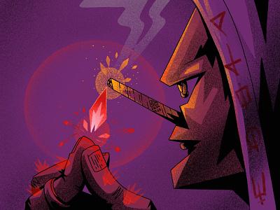 "NM ""Lighter"" new magicans character illustration illustration art digitalart art"