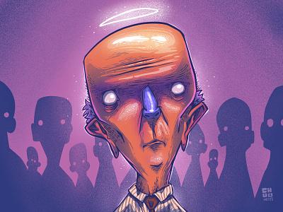 Officeangel character illustration digital illustration art digitalart art