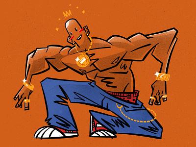 Gangsta character illustration digital illustration art digitalart art