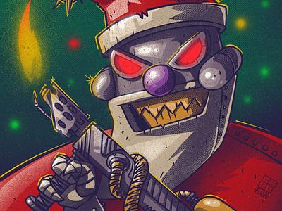 Happy New Year! santaclaus christmas new year character illustration digital illustration art digitalart art
