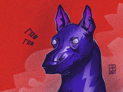 Woof-Woof character illustration digital illustration art digitalart art