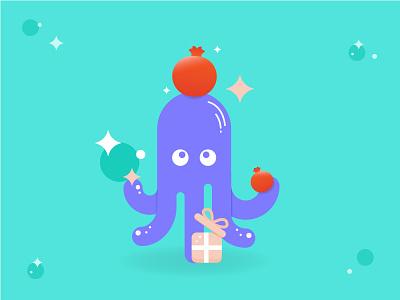 Osa website branding hebrew vector octopus illustrator illustration giftshop graphicdesign gifts