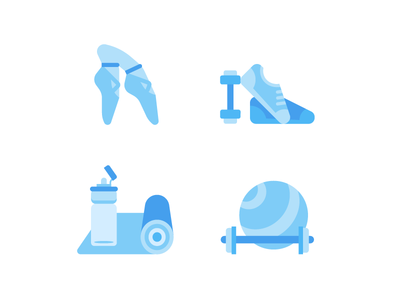 Exercise icons sport icon illustration exercise vector series digital web graphic gym graphic design