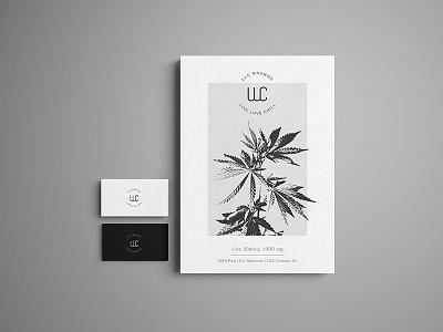 Medical cannabis brand marihuana cannabis logo design hemp