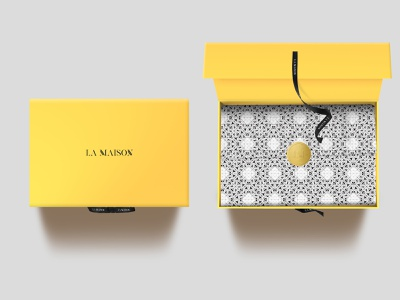 La Maison, Saudi Arabia fashion package fashion branding branding luxurious packaging haute couture fashion