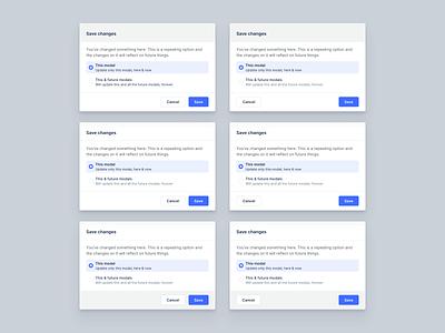 Library / Modals / More Modals design modern web ux webdesign user interface interface modal window modals ui