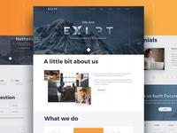Exlrt Website