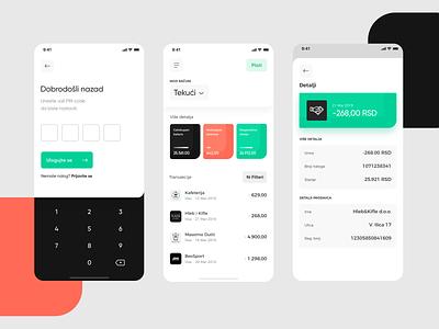 Intesa Mobile v03 ux user inteface ui minimal iphone ios design interface design bankapp bank app