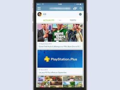 iOS App Design iphone ios app design game interface ui ux gamer