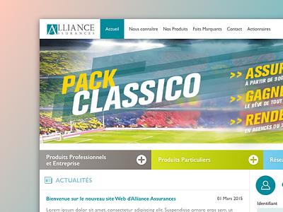 Website Homepage Redesign redesign home ui design interface webdesign web