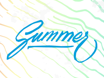 Summer is here ! iphone wallpaper typeface calligraphy pencil sea waves summer textures brush lettering typography