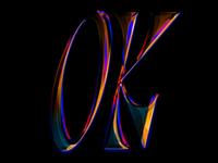 OK videogame retro 90s typography type ok