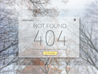 Daily UI Challenges - 404 Not Found