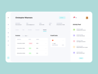 Tulip Cremation - Case Detail user inteface interfaces product design ux dashboad design interface clean minimal ui