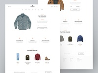 Huckberry - Product Card cart product card product clean minimal typography web shop ecommerce
