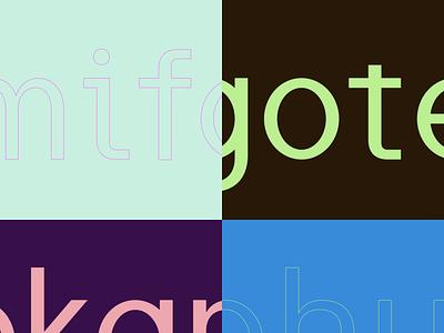 Type logotype logo font type typography