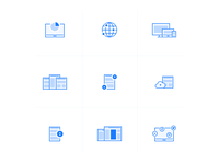 simple icons [wip]