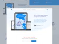 Intercom on Customer Support landing page