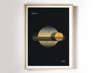 Saturn – Titan