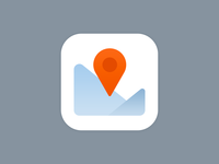 Winter Map iOS icon