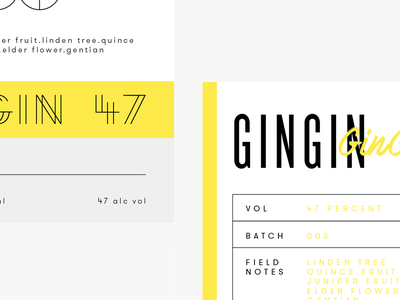 Gin labels [wip] clean simple bold line thin light label gin alcohol identity branding logo