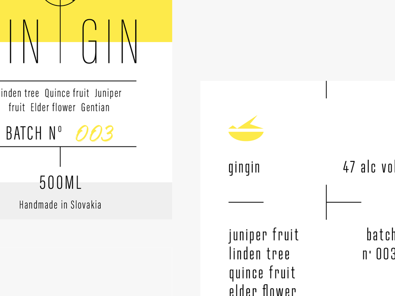 Gin labels 2 [wip] thin simple logo line light label identity gin clean branding bold alcohol