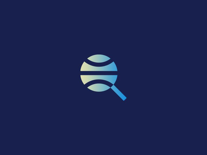 Some refresh branding brand symbol magnifier planet logo identity mark search global globe