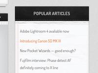 Popular articles