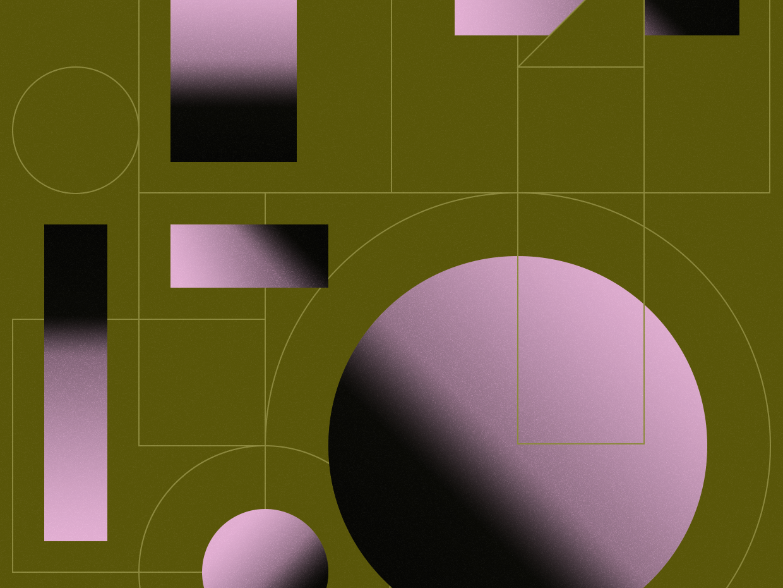 Geo illustration texture gradient pattern