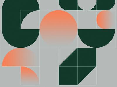 Pattern play geometric abstract illustrator branding brand geometry shape texture pattern