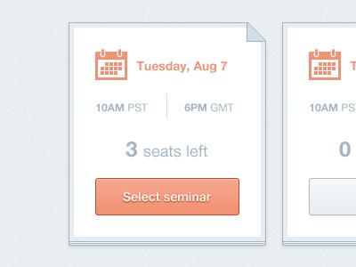 Select seminar