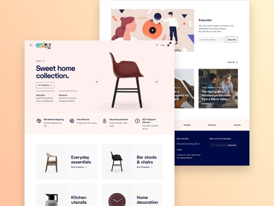 Home Collection - Responsive Ecommerce Store ui webdeveloper websitedesign web seo digitalmarketing webdesigner branding webdevelopment marketing website graphicdesign design webdesign online business ecommerce webstie dropshipping woocommerce shopify store wordpress