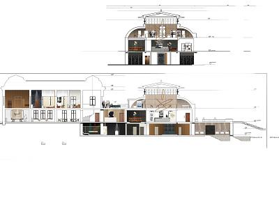 Conac Ghergani- SPA & Architect club club spa autocad design interior photoshop interior architecture