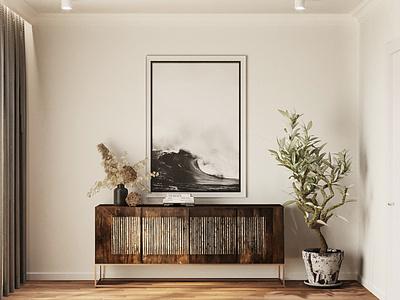 Bedroom detail corona coronarender 3d interior interior architecture design