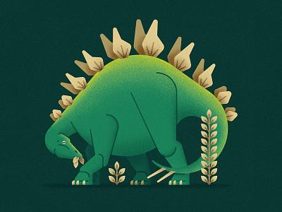 Stegosaurus prehistory dino jurassic reptile animal stegosaurus dinosaur geometry vector flat