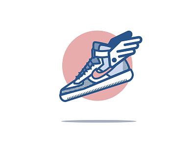 Sneakers flying blue pink fly basket jordan air sneaker shoes nike sneakers